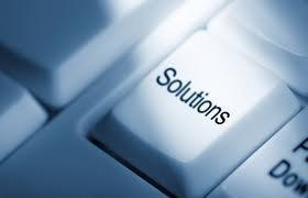 solutions button graphic